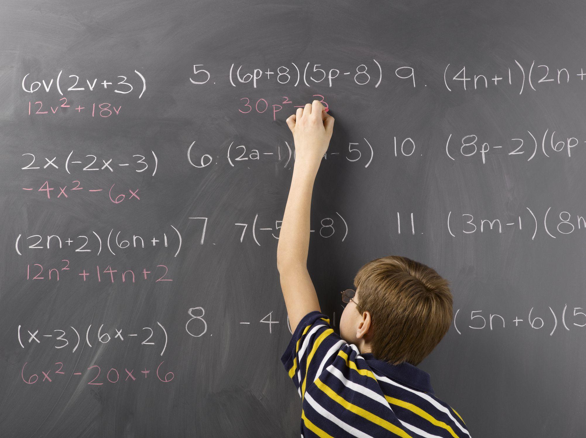 Math Worksheets For Grade 6 8