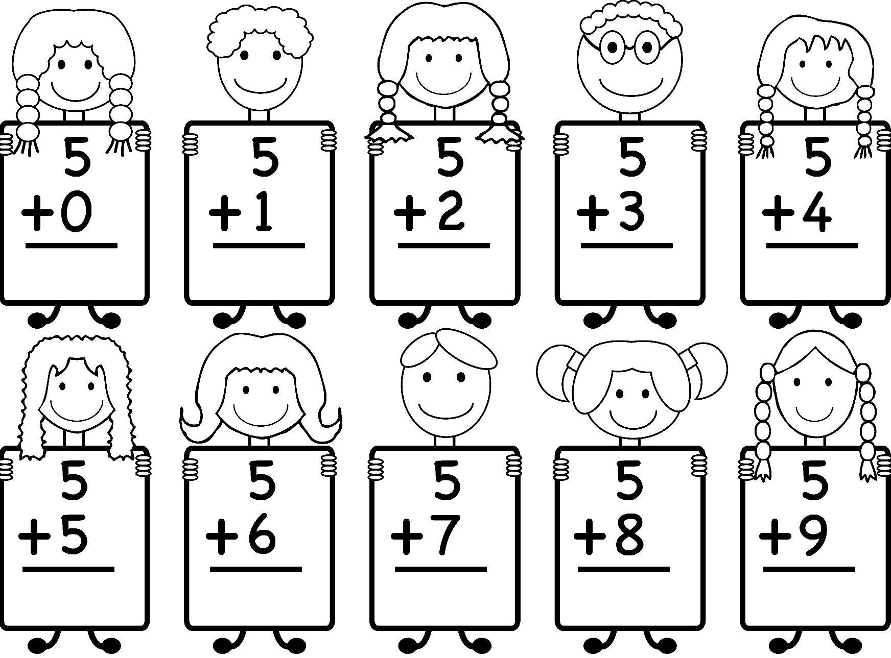 Math Worksheets For Jk