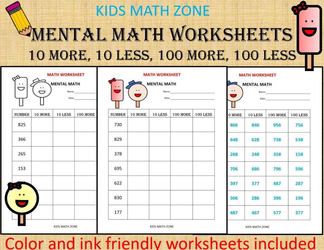 Math Worksheets For Jr Kg Students 5