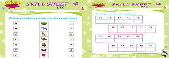 Math Worksheets Lkg Class 6