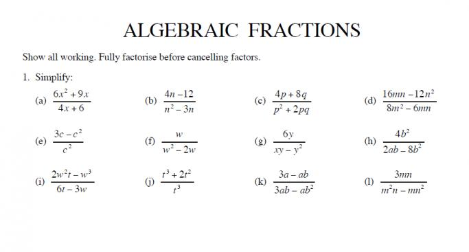 Maths Worksheets Ks3 Bbc Bitesize