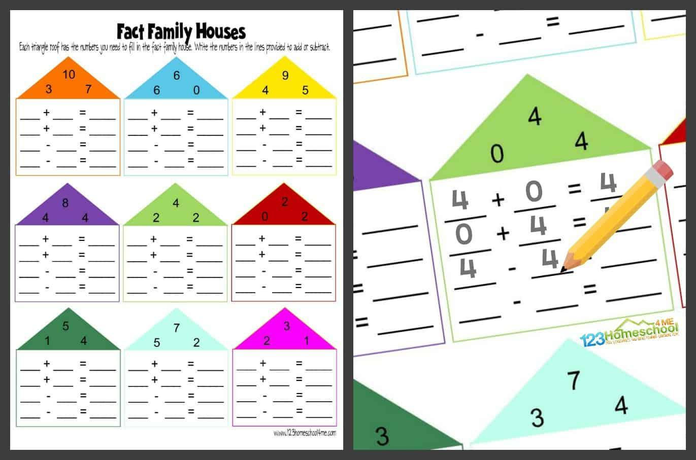 Printable Math Worksheets Kindergarten Addition