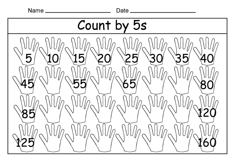 Free Math Worksheets Skip Counting