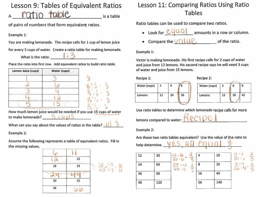 Free Printable Math Worksheets Ratios And Proportions