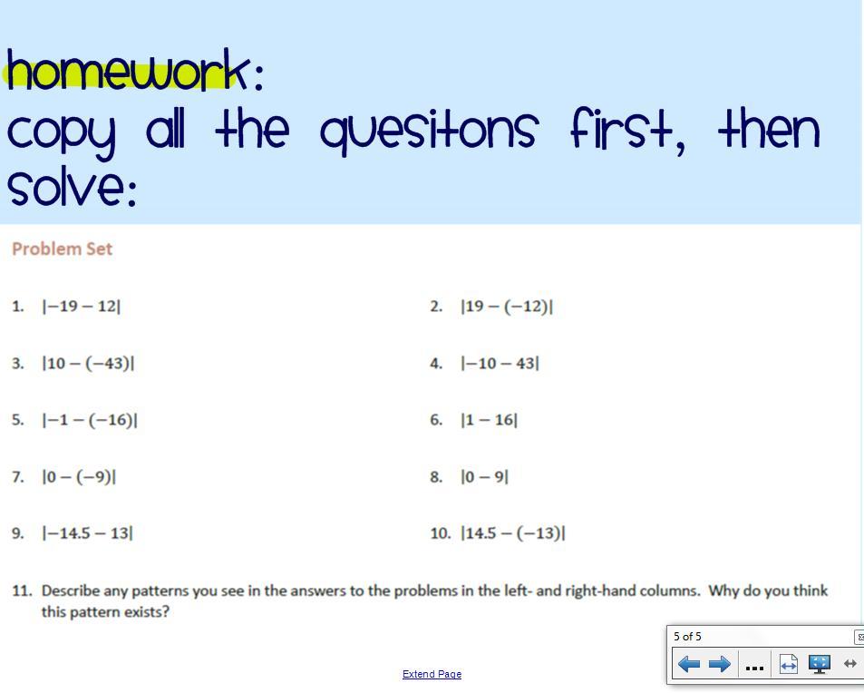 Grade 9 Math Rational Numbers Worksheet