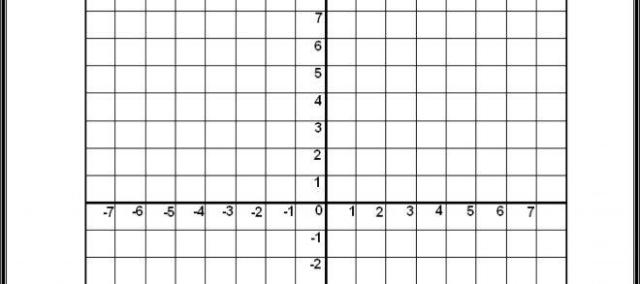 Math Graph Quadrants Worksheets