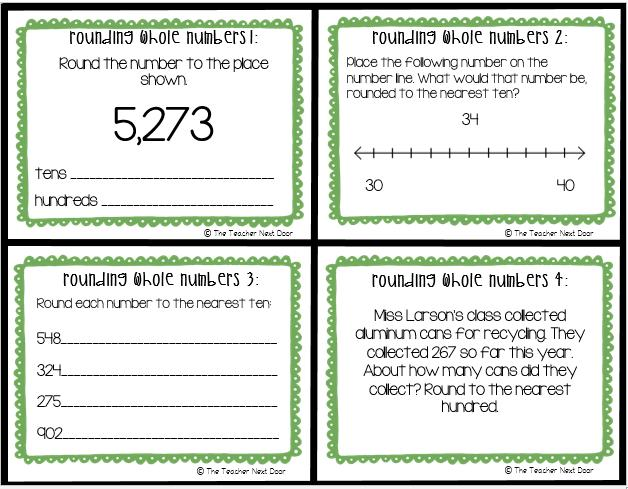 Math Rounding Worksheets 4th Grade