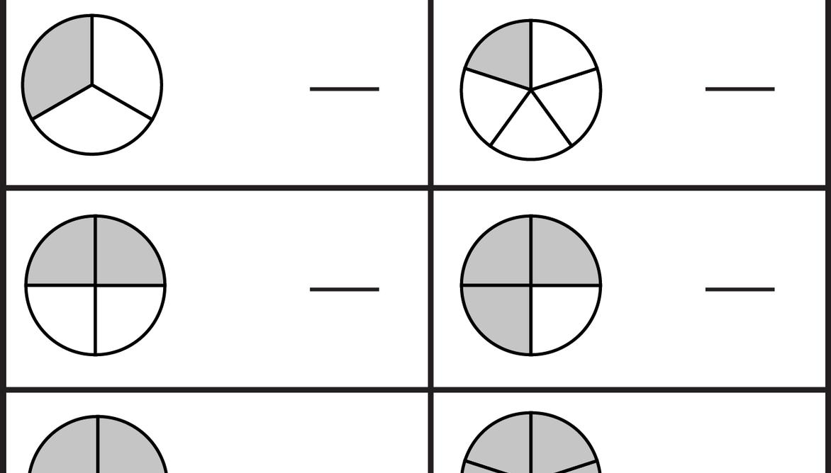 Math Worksheets On Fractions For The 5th Grade
