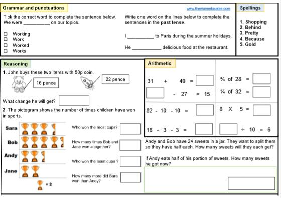 Maths Practice Worksheets For Class 2 Pdf