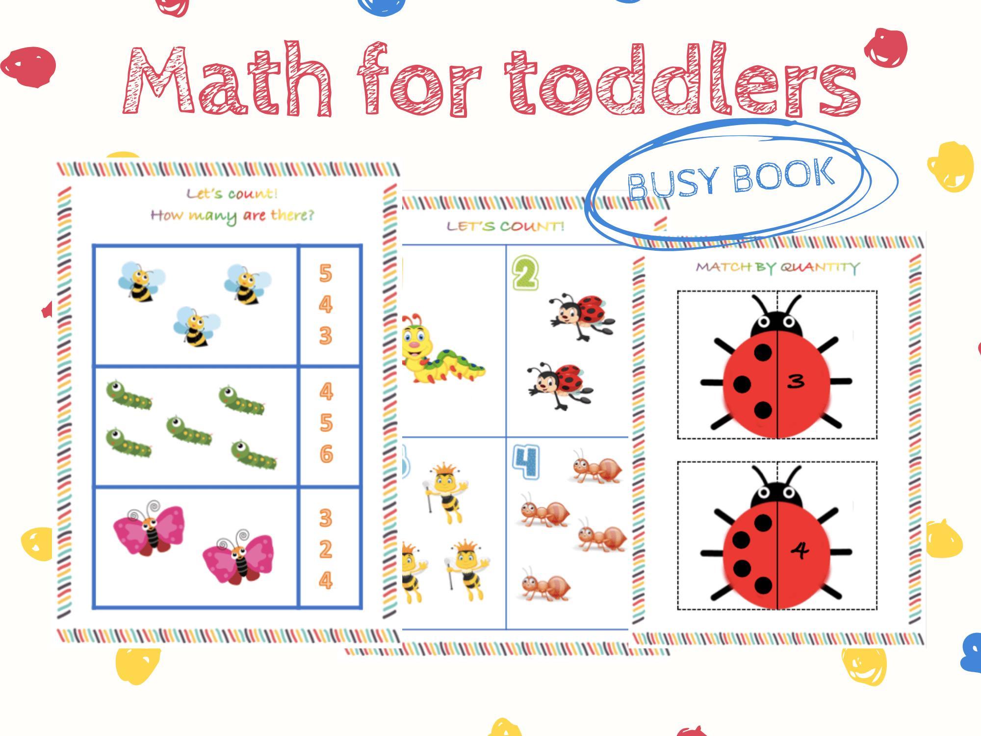 Spring Math Worksheets Pre K
