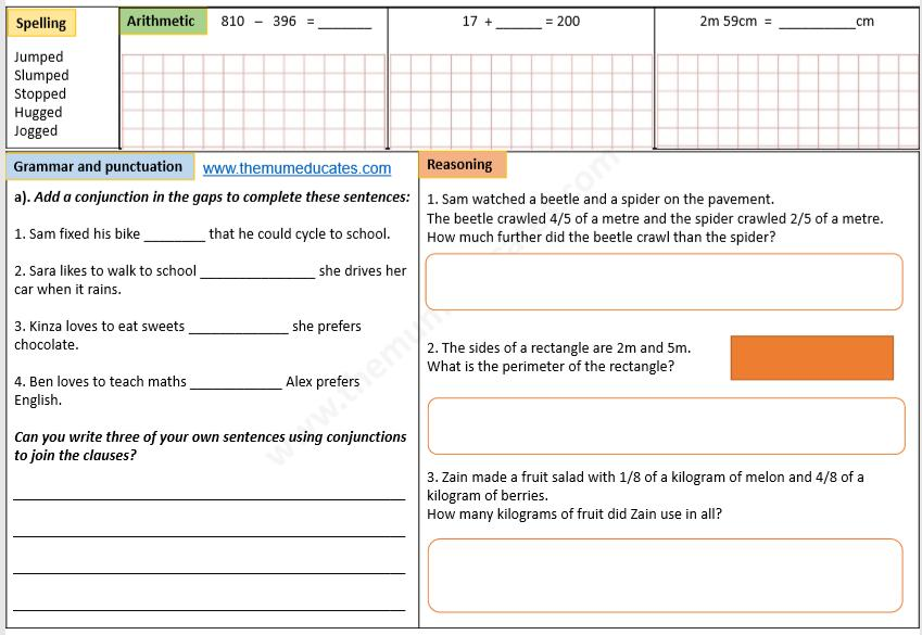 Math Worksheets Grade 3 Subtraction