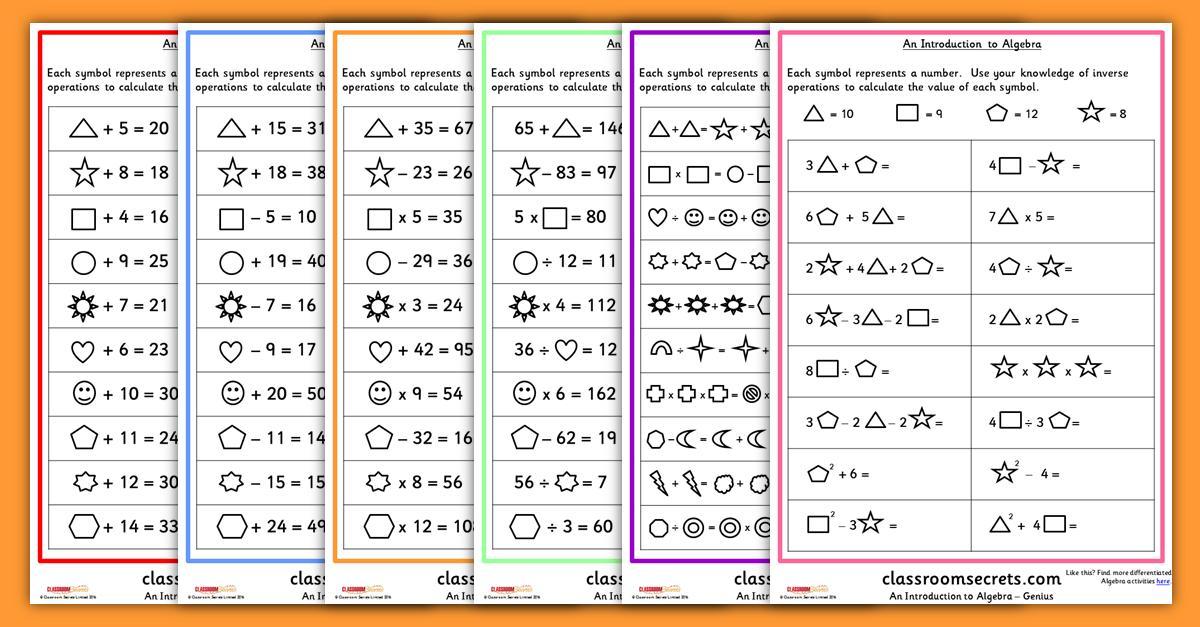 Math Worksheets Grade 6 Fractions
