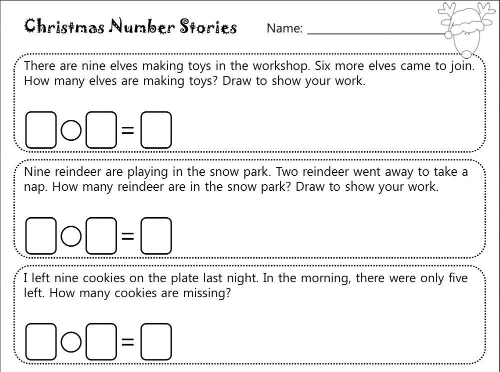 Math Worksheets In Word Document