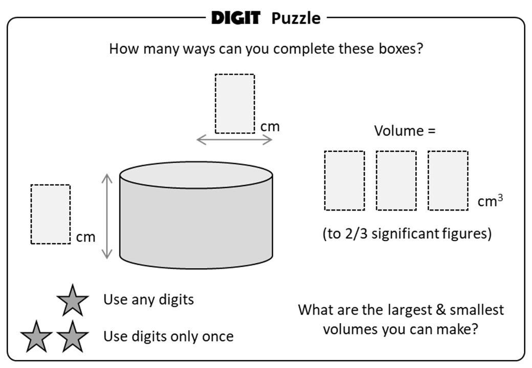 Math Worksheets Volume Of A Cylinder 6