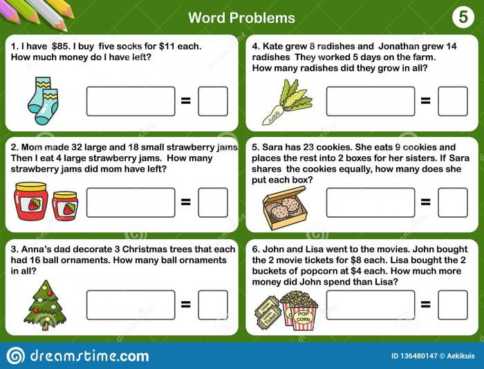 Math Worksheets Word Document 3