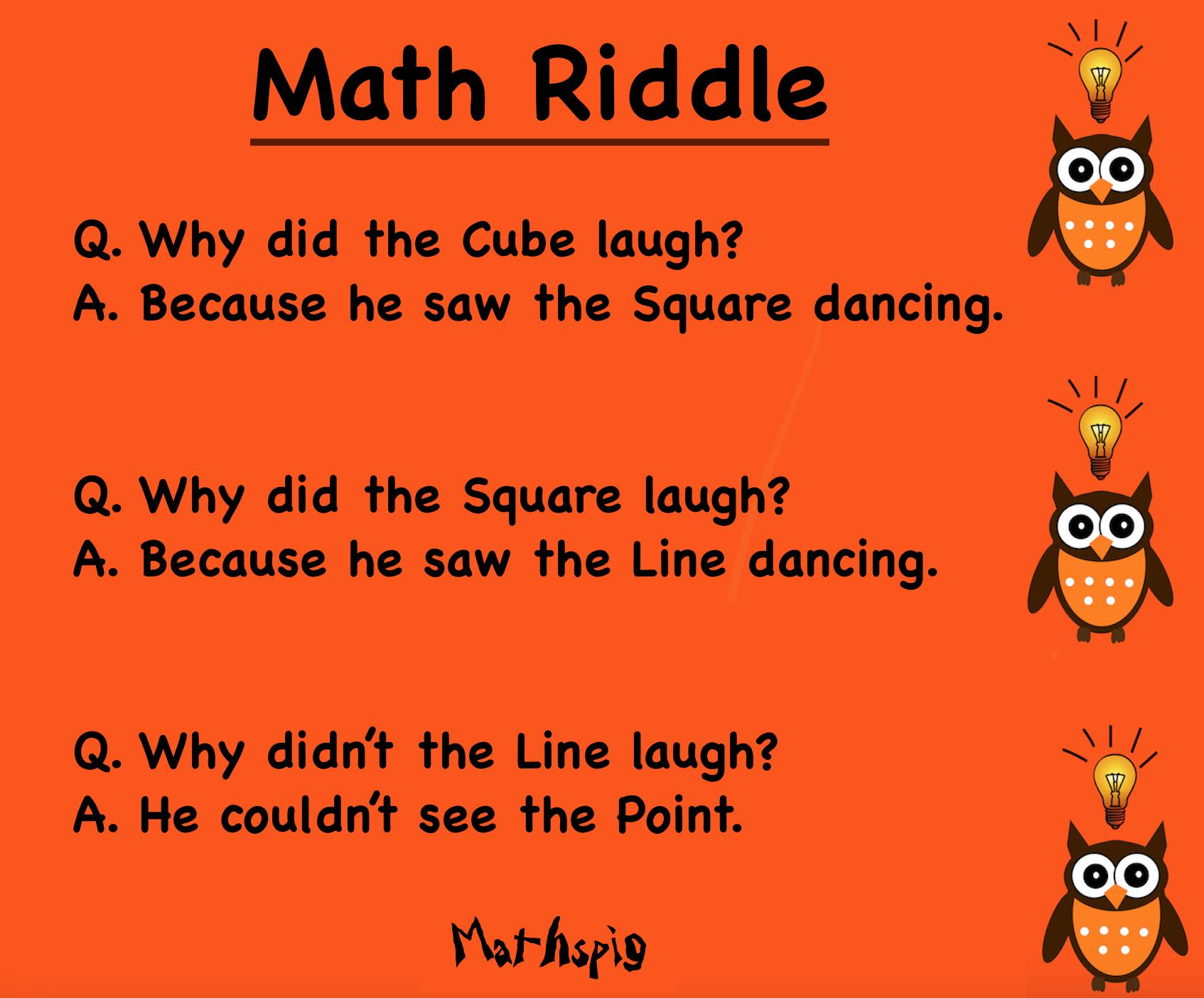 Algebra Joke Worksheets 3
