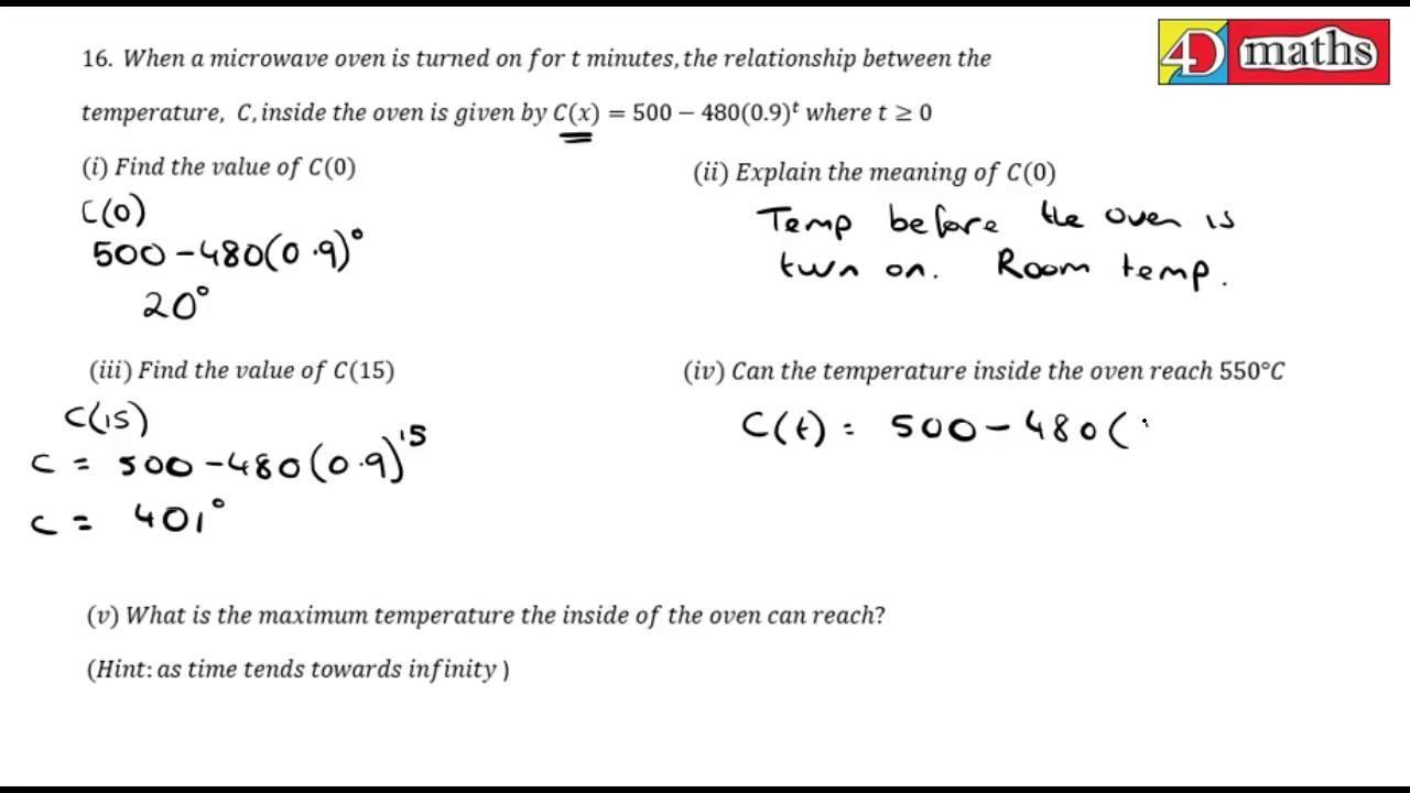 Algebra Revision Worksheet Leaving Cert
