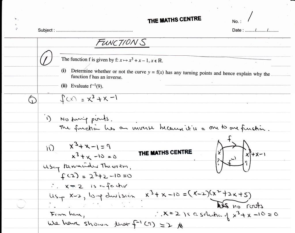 Algebra Worksheets Igcse 1