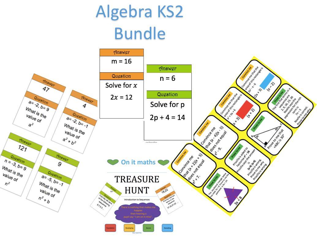 Algebra Worksheets Ks2 Pdf