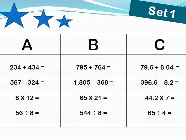 Algebra Worksheets Ks2 With Answers 1