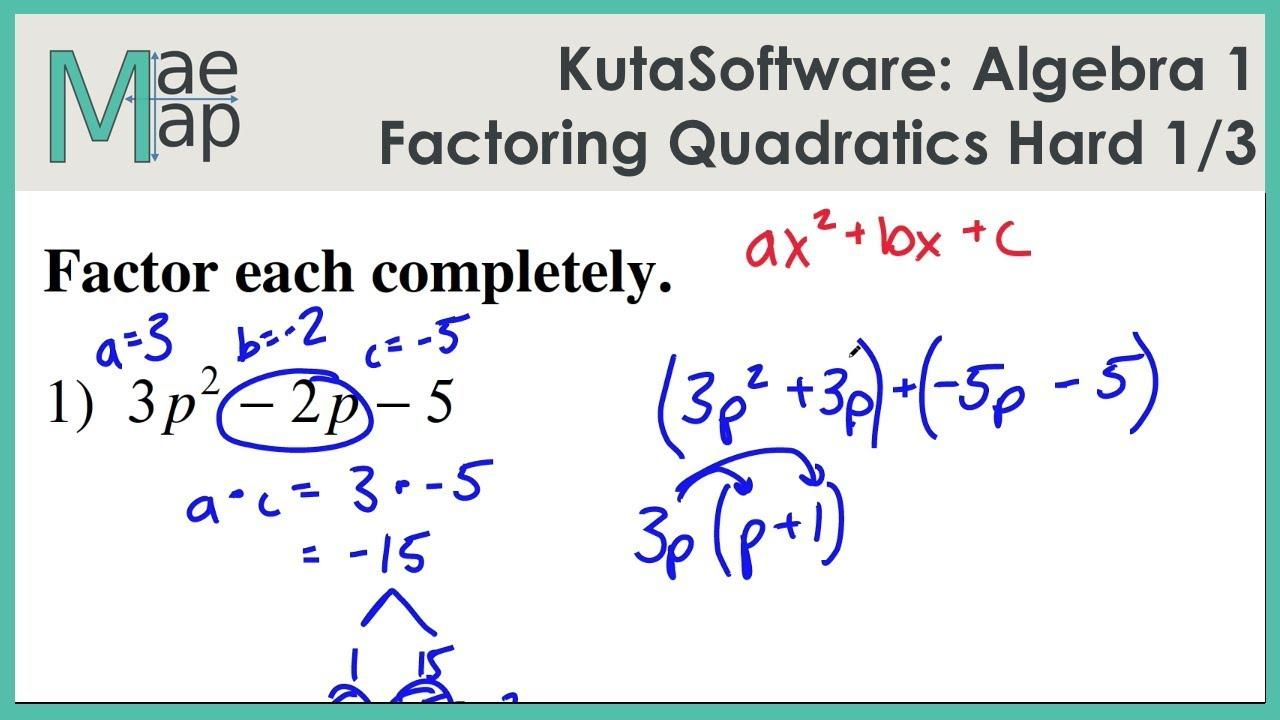 Hard Algebra Equations Worksheets