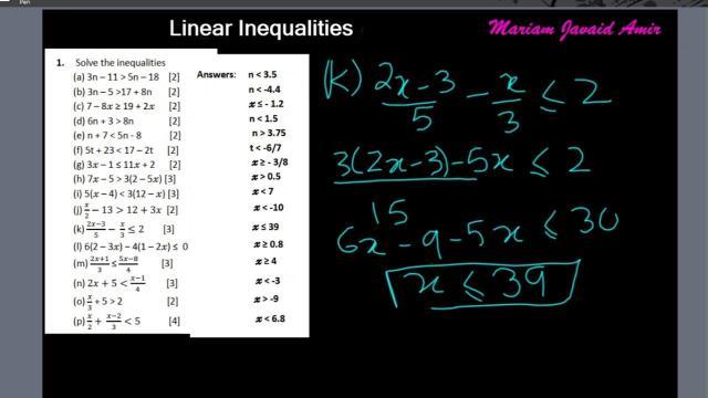 Igcse Maths Algebra Worksheets