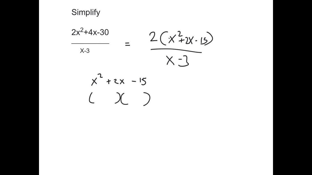 Junior High Algebra Worksheets