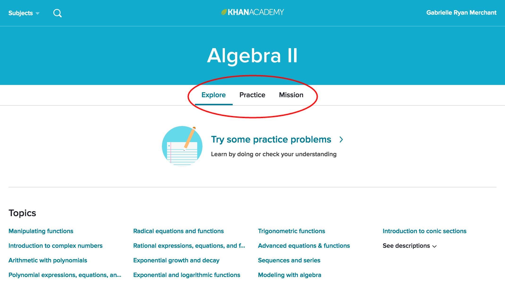 Khan Academy Pre Algebra Worksheets