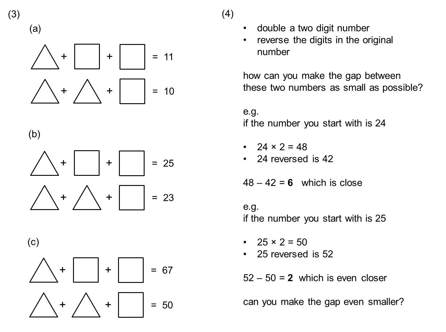 Math Worksheets For Grade 6 Cambridge