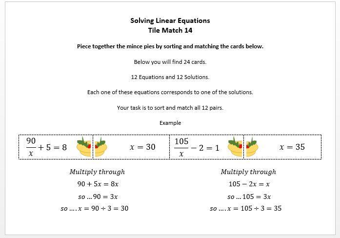 Teaching Algebra Ks4