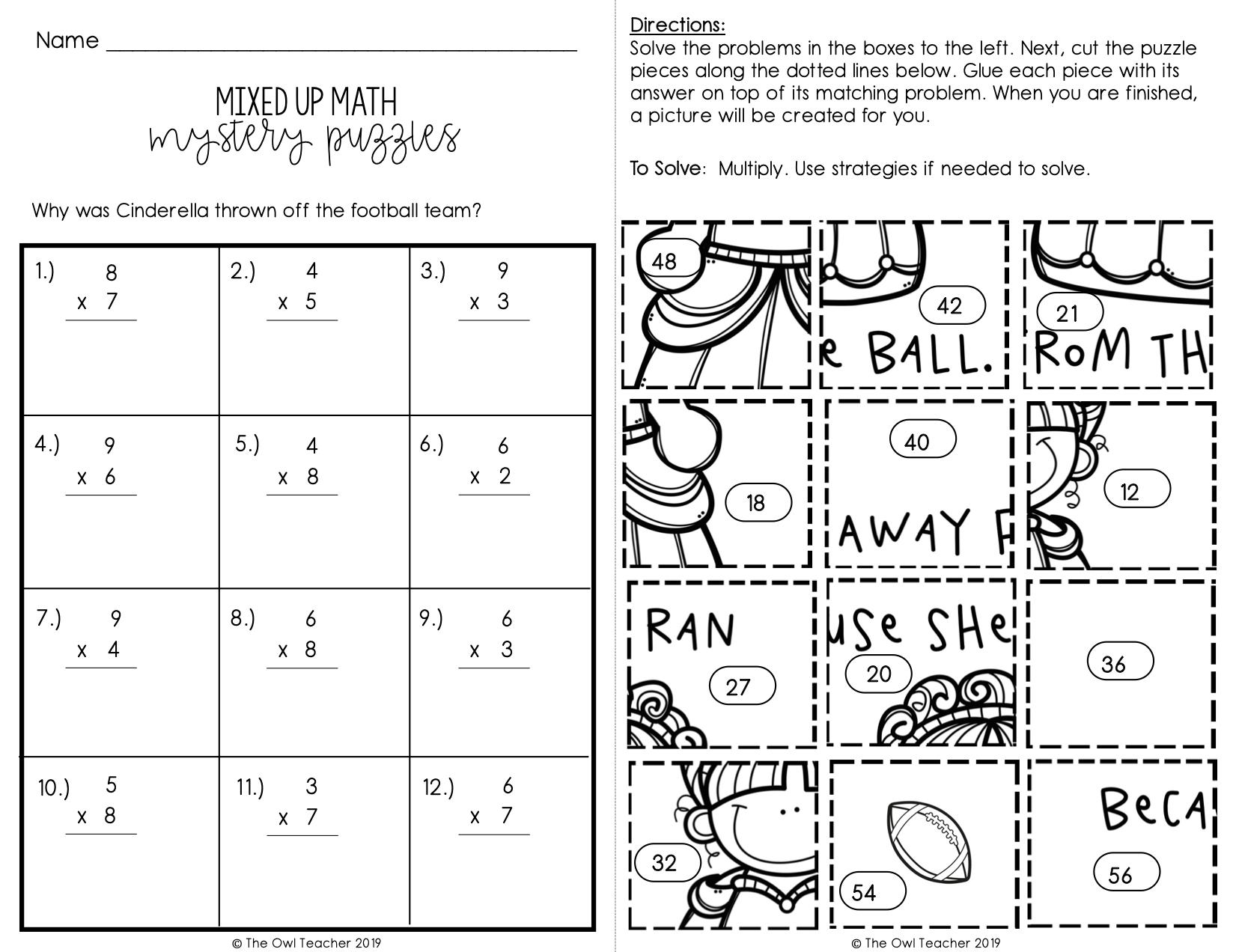 medium resolution of Mixed Multiplication And Division Worksheets – Best Kids Worksheets
