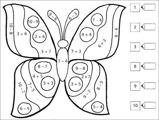 Math Color By Number Worksheets Multiplication – Best Kids Worksheets