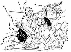 Jesus And The Story Of The Good Shepherd And The Good