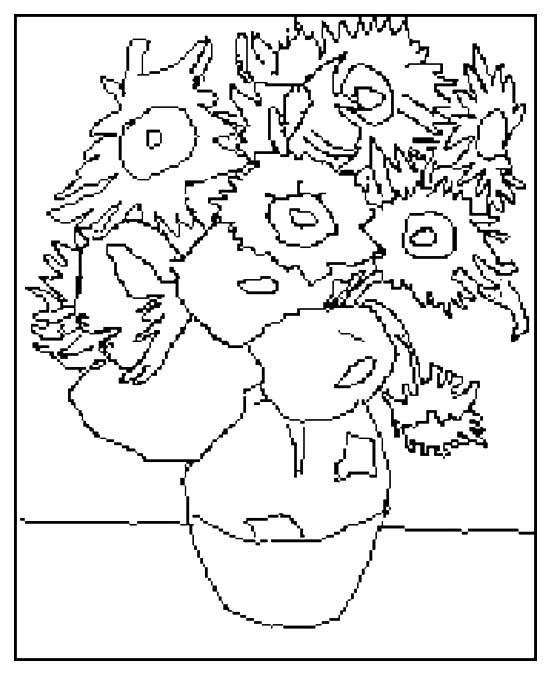 Kleurplaten Van Zonnebloemen