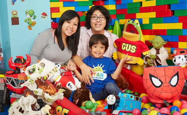 The Six Year Old Star Of Ryan Toysreview Has Set A