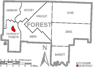 Forest County, Pennsylvania Facts for Kids