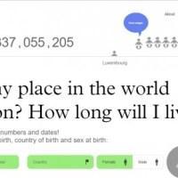 Queres saber quantas pessoas nasceram no mesmo dia que tu?