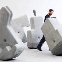 Investigadores criaram blocos de 1,5 toneladas que podem ser movidos à mão