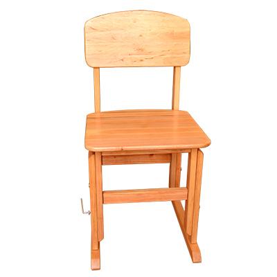 Детский стул регулируемый (дерево)