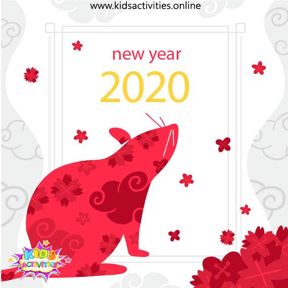 Chinese Zodiac Rat 2020 Year - Free Chinese new year 2020 animal images
