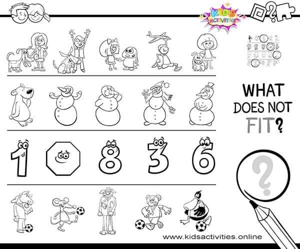Kindergarten Math Worksheets-Free Preschool Snowman Worksheets