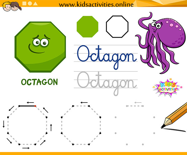 shapes for preschool worksheets