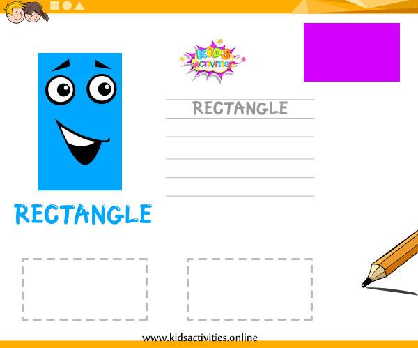 shapes activity sheet