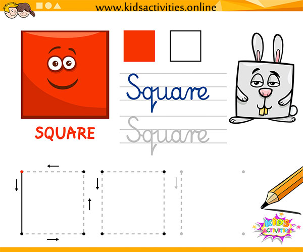 Free Printable Tracing Shapes Worksheets For Preschool