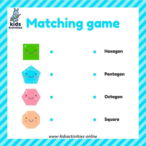 shapesactivities forkindergarten