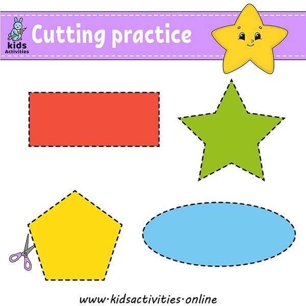Free printable cutting activities for preschoolers