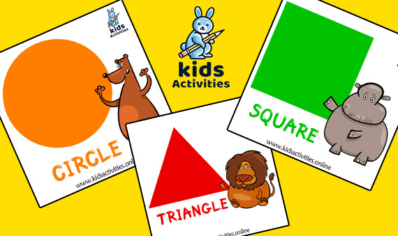 Printable Shapes Flashcards For Preschoolers pdf
