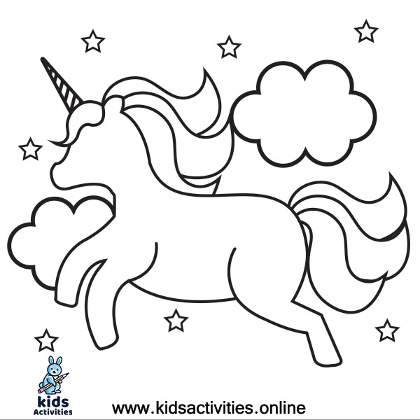 Download Best UNICORNS COLORING PAGES