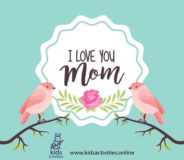 Sweet Mother`s Day Cards Printable