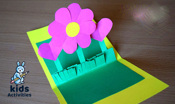 Flower Greeting Cards – pop up